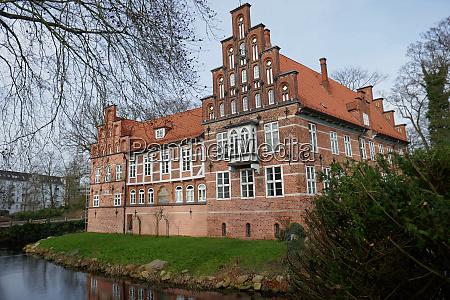 bergedorf castle in hamburg