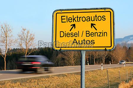 weg von diesel und benzinautos hin