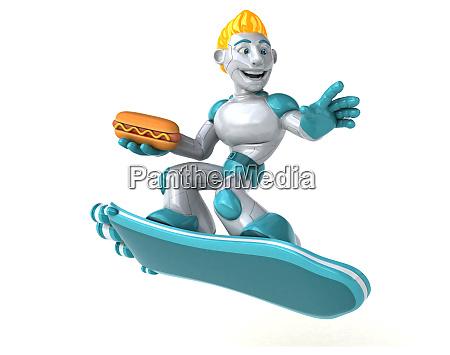 roboter 3d illustration