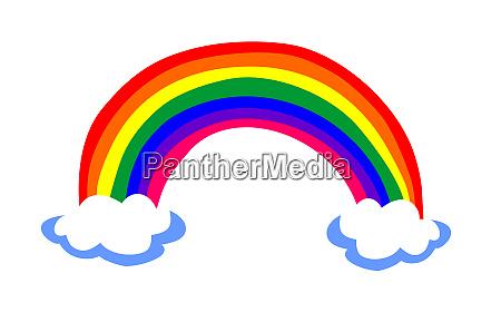 hoffnung regenbogen symbol
