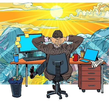 quarantaene remotearbeit zu hause traum von