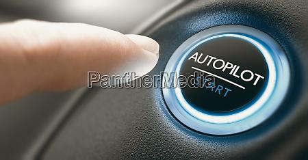 autopilot schalter taste