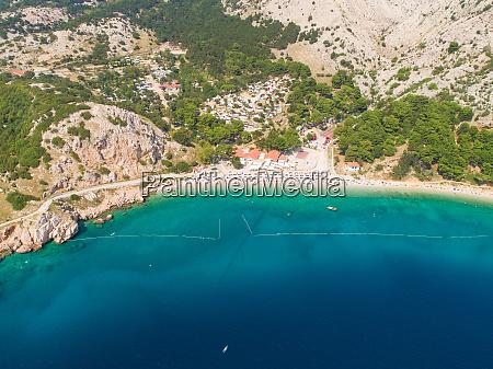 luftaufnahme von baka kroatien