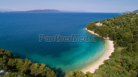 aerial, view, of, secluded, beach, near - 28227052
