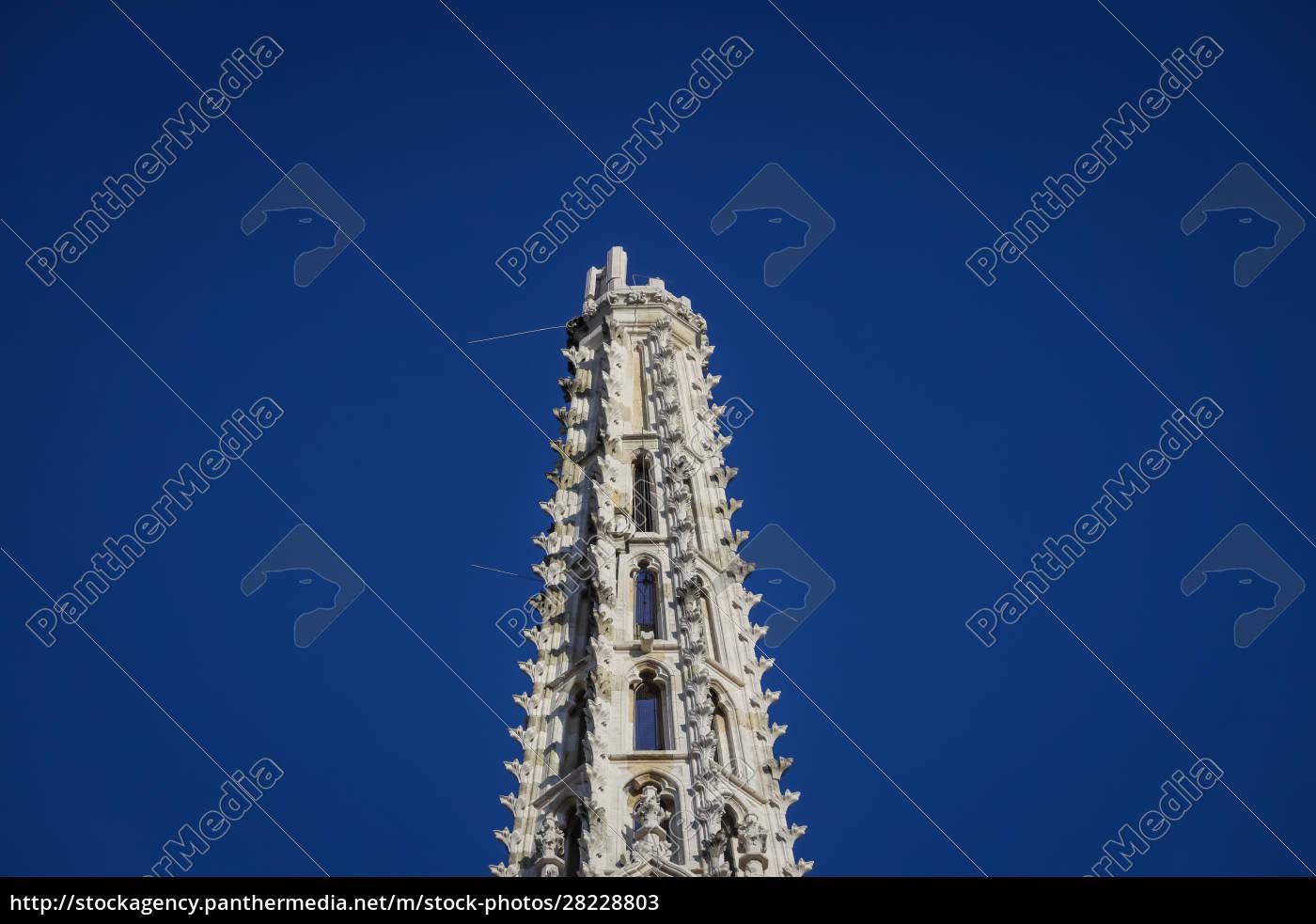 zagreb, von, erdbebengeschädigter, kathedrale, getroffen - 28228803