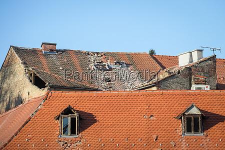 zagreb, vom, erdbeben, getroffen - 28229037