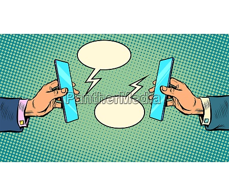 business online kommunikations smartphone