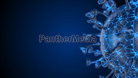 mikroskop-viruszelle., pandemiebakterien, erregern, medizinisches, gesundheitsrisiko, corona, covid-19 - 28232557