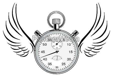 time management concept illustration vector
