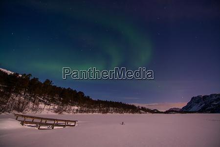 aurora borealis mattisvannet alta norwegen
