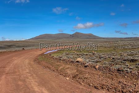 landschaft des bale mountain AEthiopien