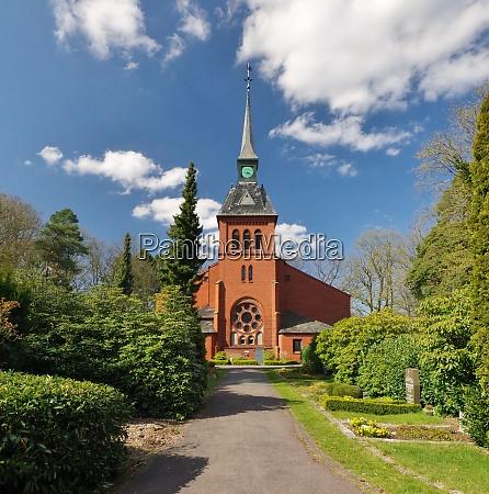kirche von eckardtsheim sennestadt bielefeld nordrhein