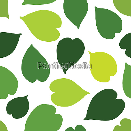 gruene tropische blaetter nahtlose muster vektor