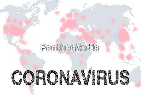 coronavirus globale virus pandemie krankheit erde