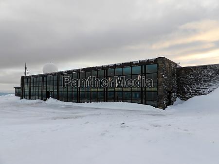 nordkapp im winter norwegen