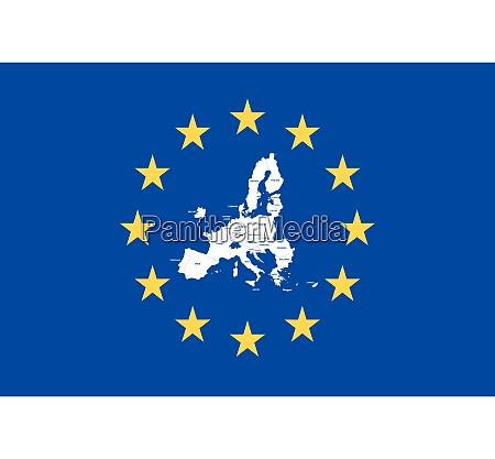 vektorkarte der mitgliedstaaten der europaeischen union
