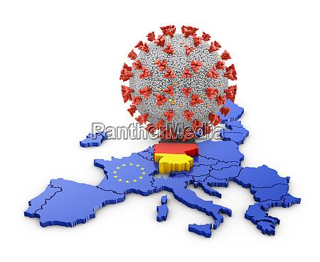 coronavirus deutschland karte