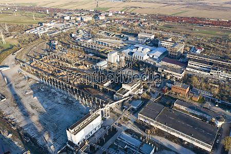verlassenes industriegebiet