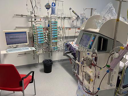 intensivstation im krankenhaus