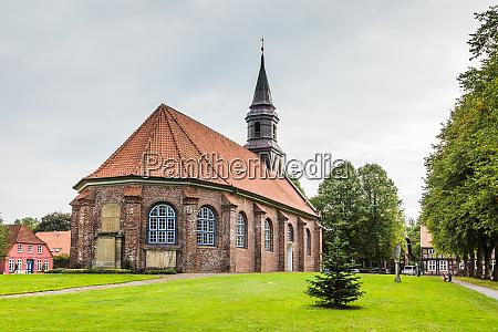 jakobuskirche brunsbuettel schleswig holstein deutschland