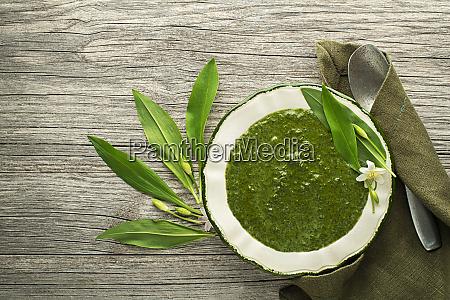 gesunde suppe ramson