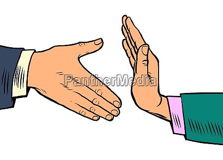 handshake verbot hygiene und hygiene