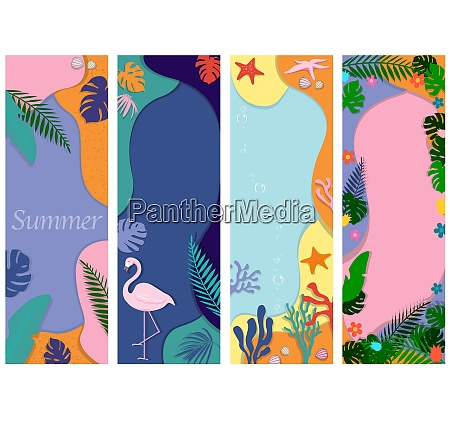 abstract background designs for summer sale