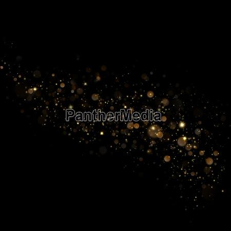 weihnachts stardust trail effekt eps 10