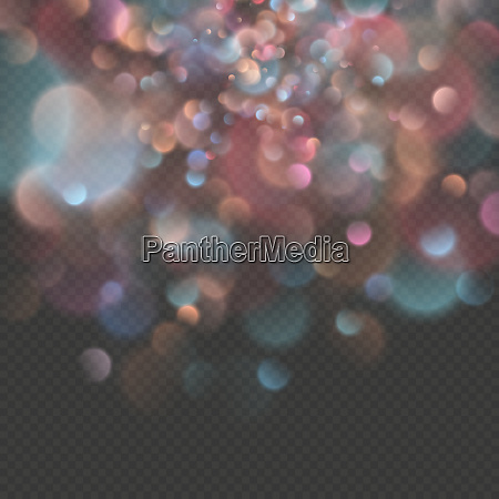 defokussierte festliche lichter bokeh effekt eps