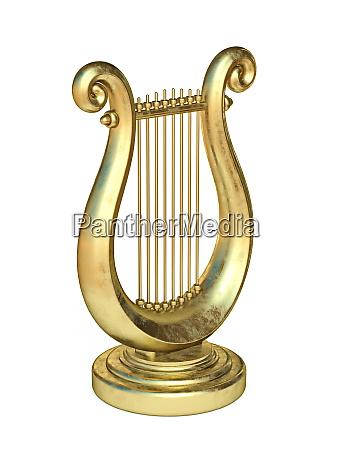 goldene lyre 3d
