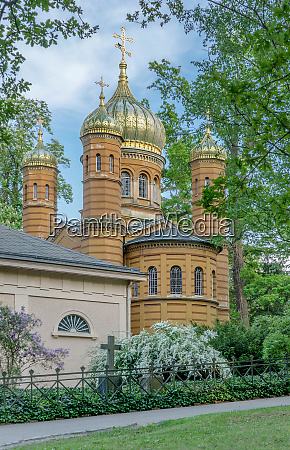 russian orthodox funerary chapel