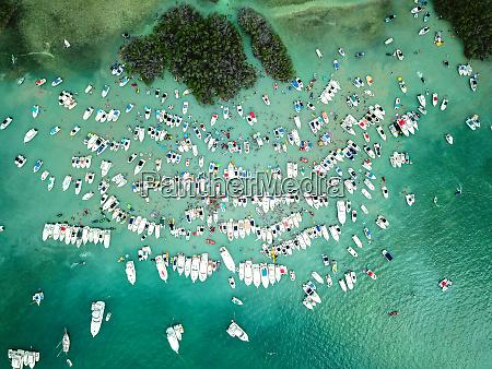 vogelperspektive von cayo caracoles lajas puerto