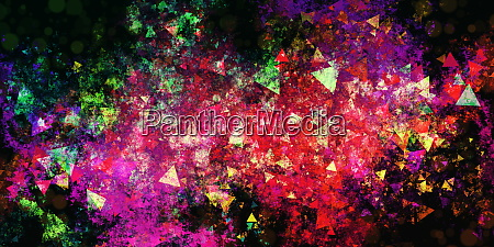 bunte explosion grunge abstrakte hintergrund