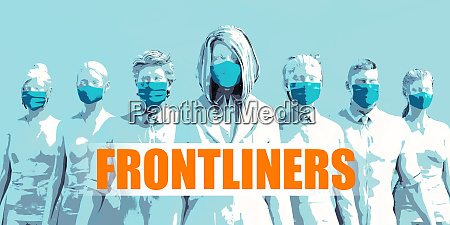 frontliners medical staff facing coronavirus outbreak