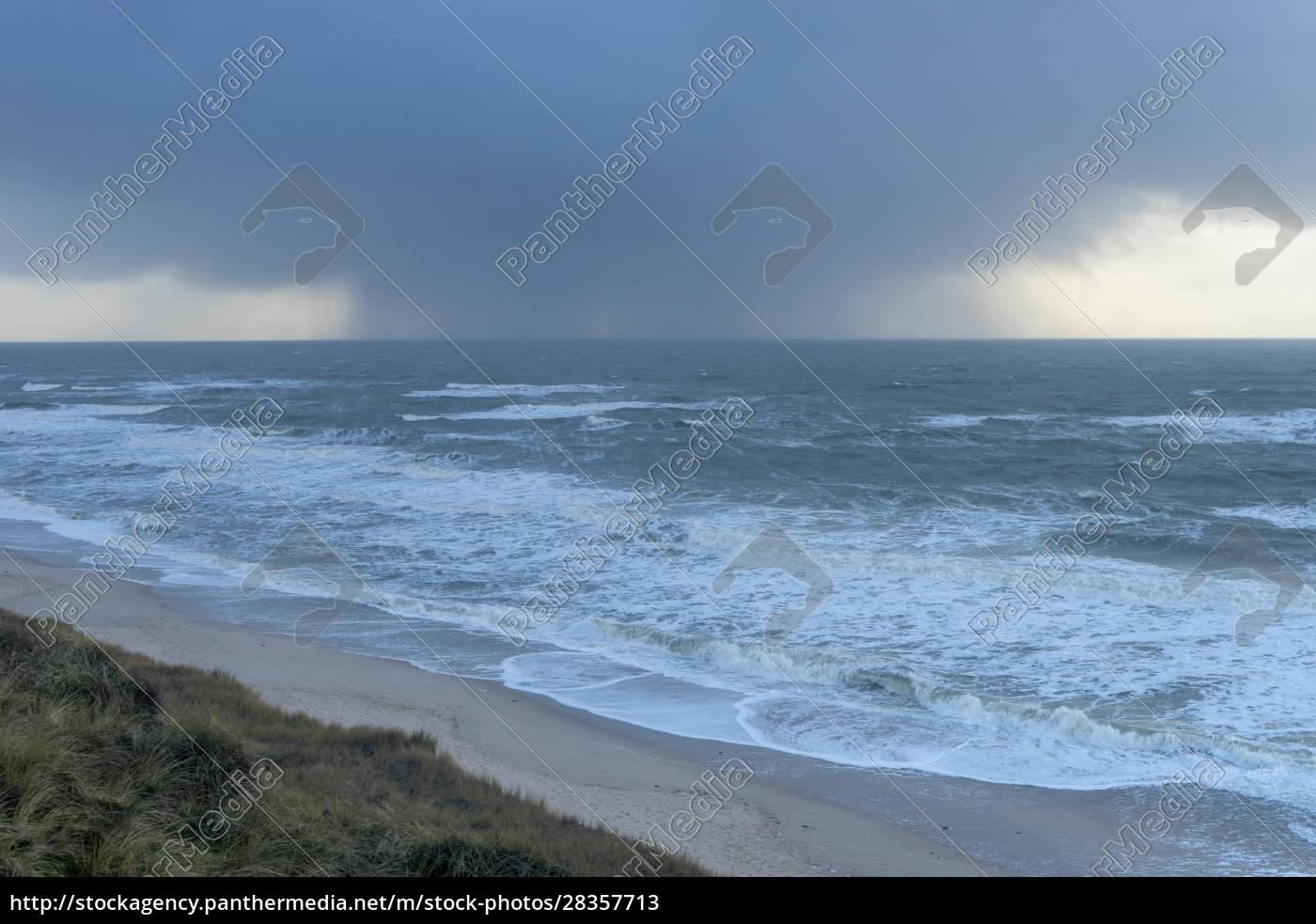 nordseeküste, auf, der, insel, sylt - 28357713