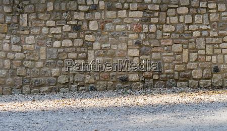 traditionelle, mediterrane, mauer, - 28357699