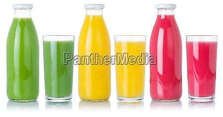 fruchtsaft fruechte orangengetraenk in glas und