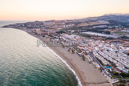 luftaufnahme von playa de las buganvillas