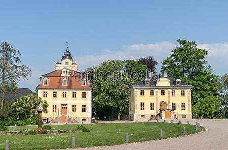 belvedere palace in weimar