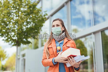 student waehrend covid 19 kann nicht