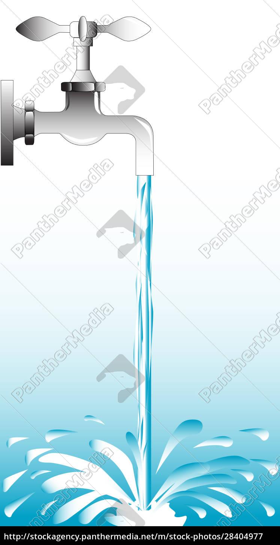 fließender, hahn - 28404977