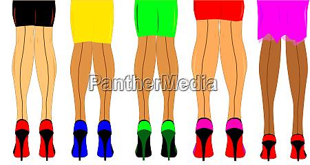 damen beine