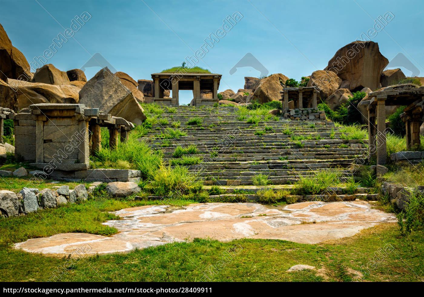 ancient, ruins, in, hampi, , india - 28409911