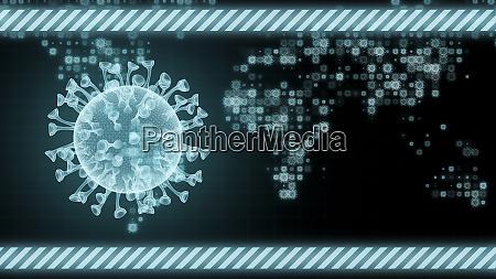 covid 19 corona virus gesundheitskonzept mikrobiologie