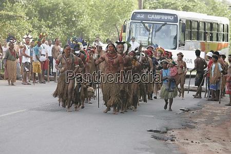 pataxos indianinin in bahia