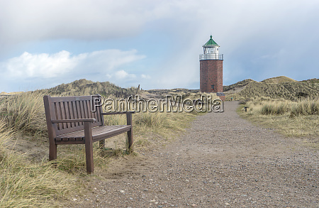 lighthouse, and, bench, - 28420151