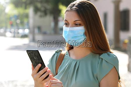 covid 19 pandemic coronavirus young woman