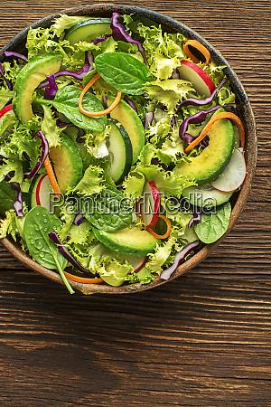 salat gemischter salat