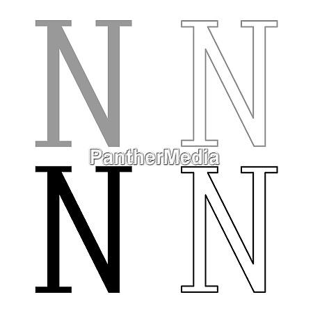 nu griechische symbol grossbuchstaben grossbuchstaben schrift