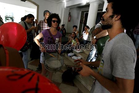 protest von ufba studenten